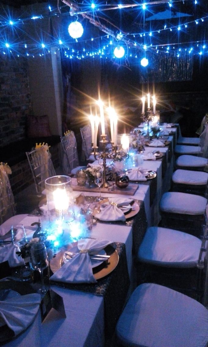 18th birthday party dinner with a royalty theme 18th. Black Bedroom Furniture Sets. Home Design Ideas