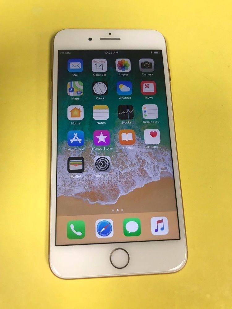 Apple Iphone 8 Plus 64gb Gold Verizon Unlocked Excellent Condition Telefonlar