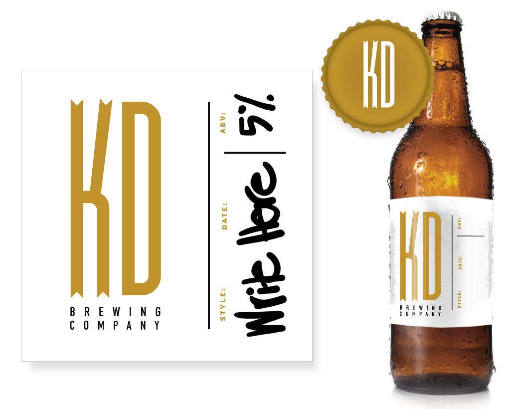 garagemonk.com custom designs and printing | Beer bottle ...