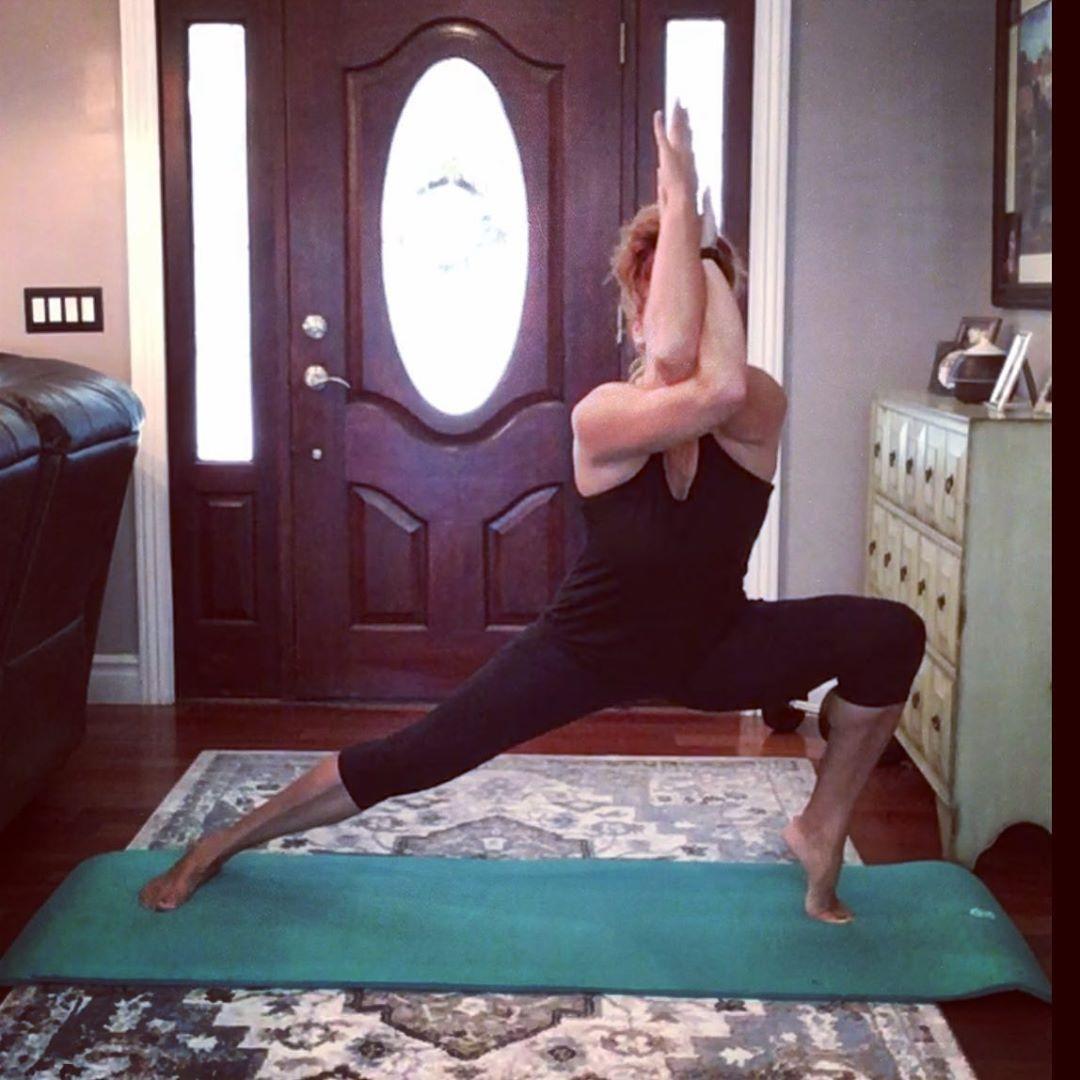 Balance Corestrong Keepgoing Calm Ninja Rheumatoidarthritissucks Yoga Yogaflow Yogapractice Fibrowarrior Balance Fit Strong Keepgoing Strengt