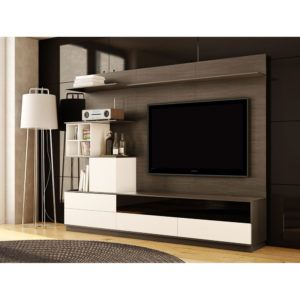 2 Accent Chairs And A Tv And Sectional.Duet Wall Unit Floor Model Only Best Wall Units Modern Wall