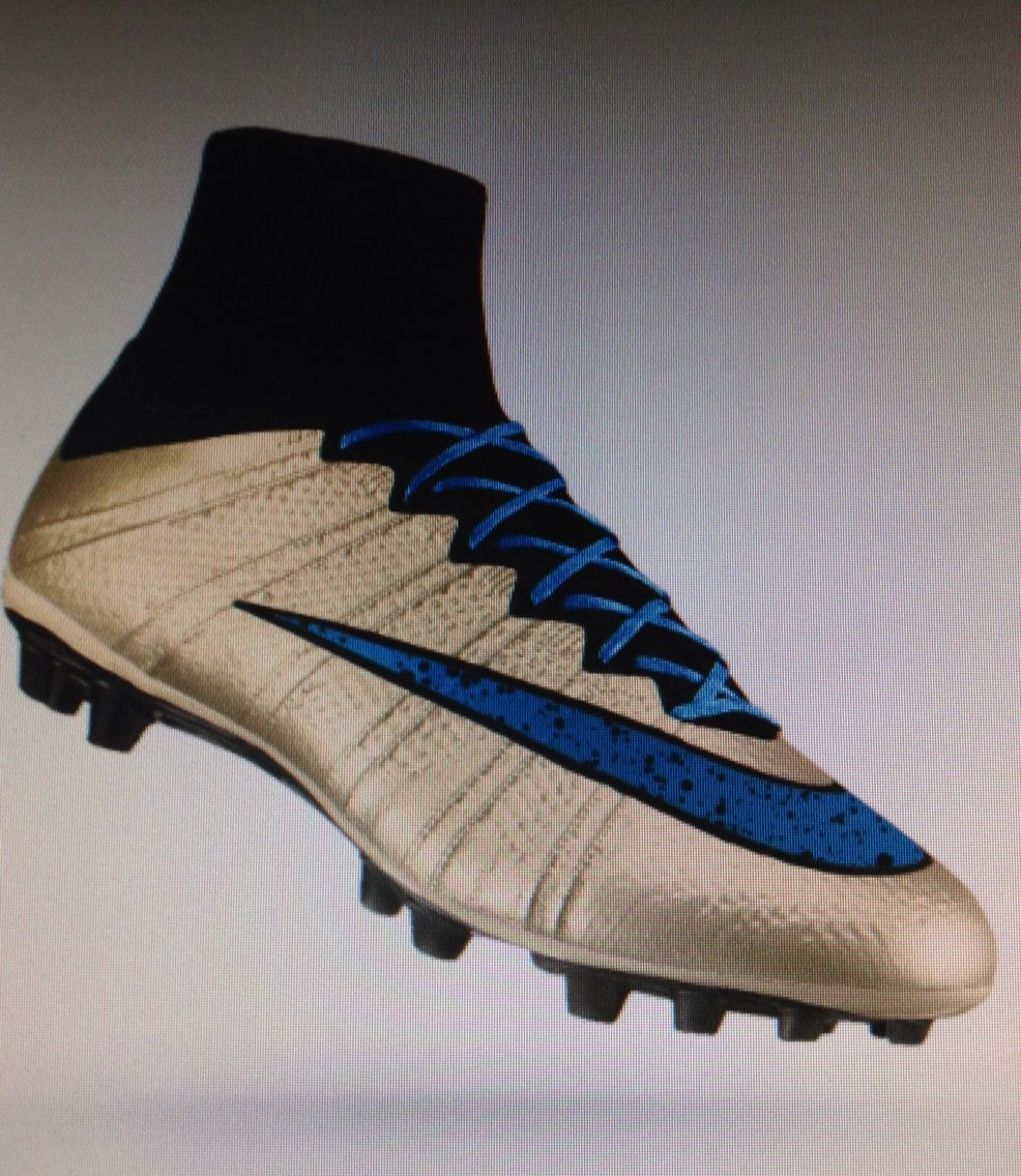 blue and gold adidas football cleats