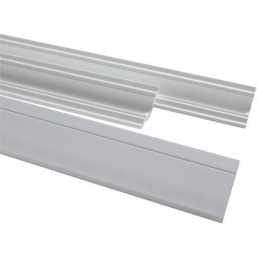 Moulure De Plafond D101 Polystyrene Extrude 8 X 200 Cm Moulure Polystyrene Plafond
