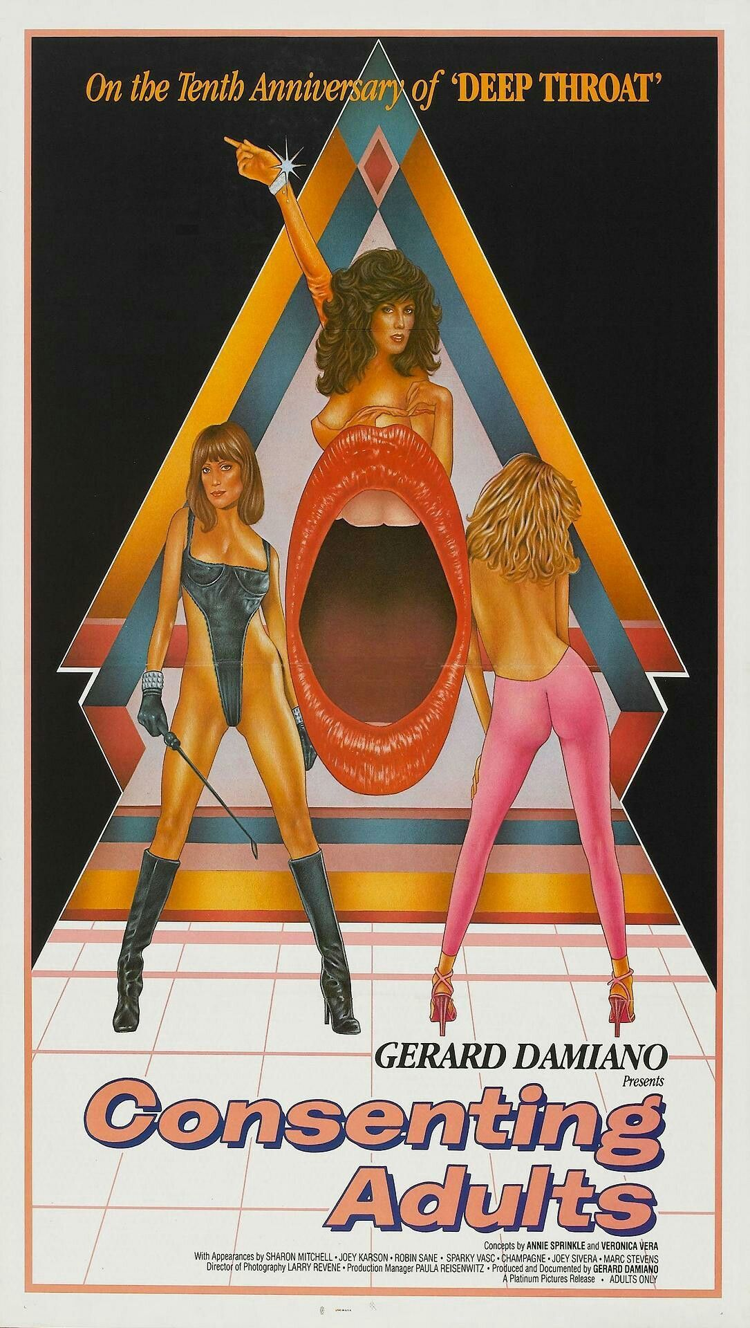 Consenting Adults (1982) | Sexploitation | Pinterest