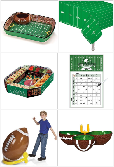 10 Unique Super Bowl Party Supplies Football team gifts
