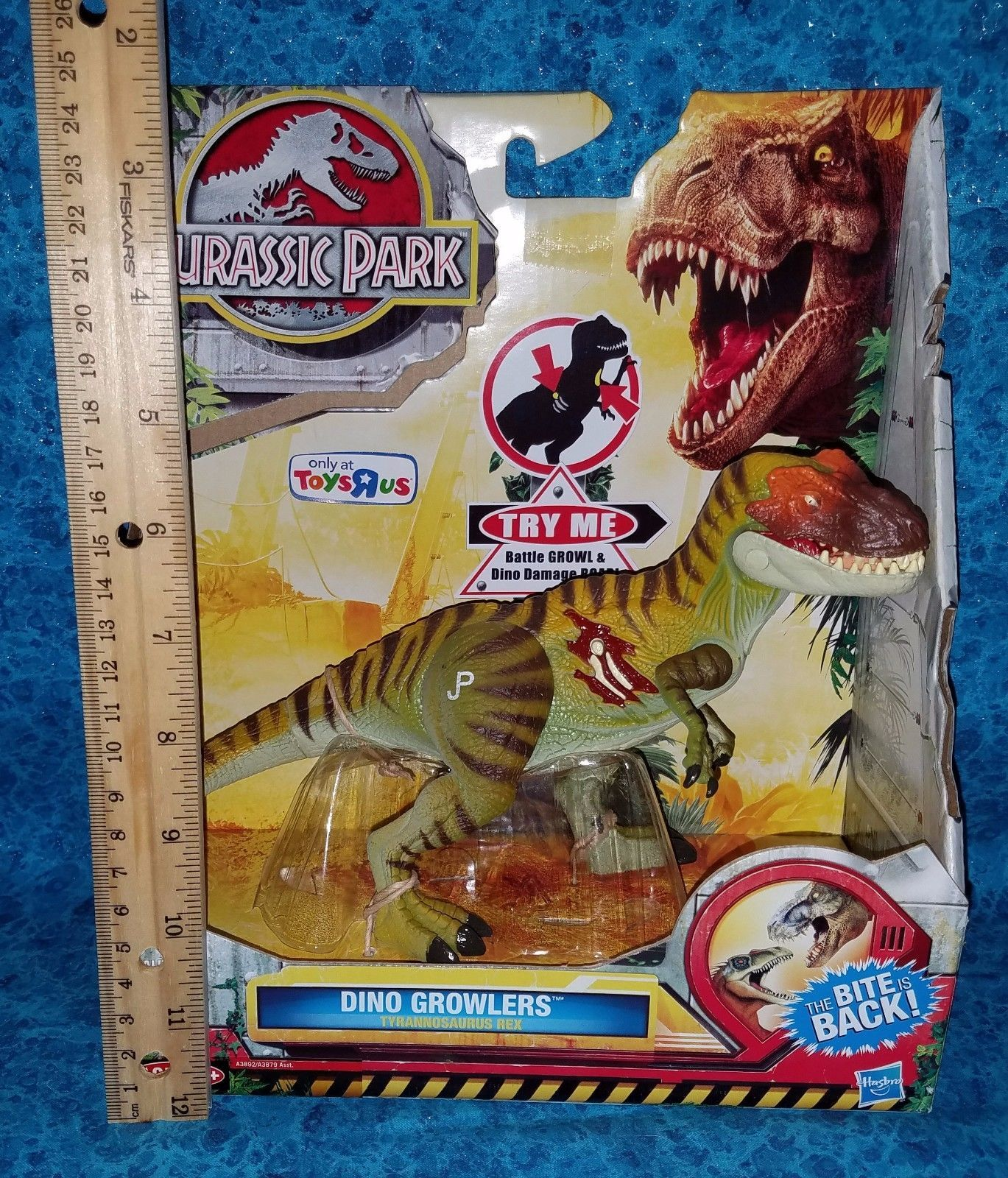 #Trending05 - Toys R Us Exclusive T-Rex Dinosaur Jurassic Park World Dino Growler RARE https://t.co/y4e07X72wU Ebay https://t.co/e7wVc8PXcI