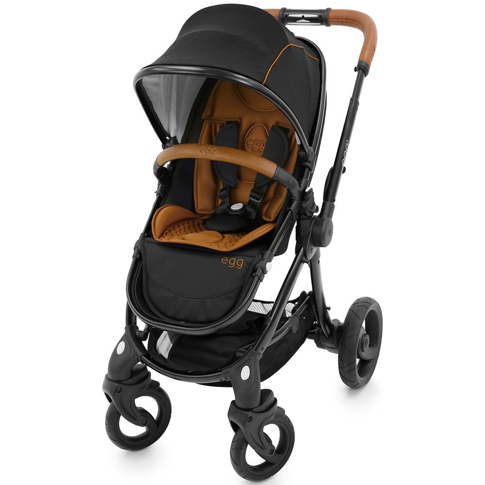 Egg Stroller Black Espresso With Sahara Tan Liner A Modern