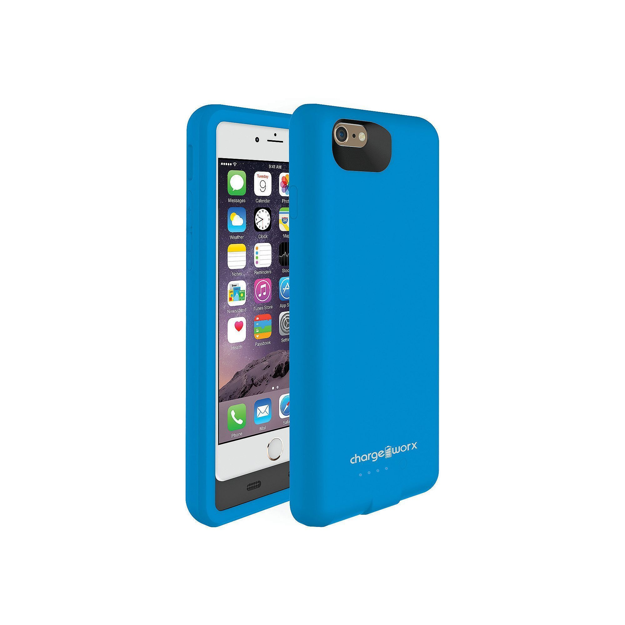 cheap for discount 9e4f8 f83e6 ChargeWorx 3000mAh Flexible iPhone 6 Battery Case   Products ...