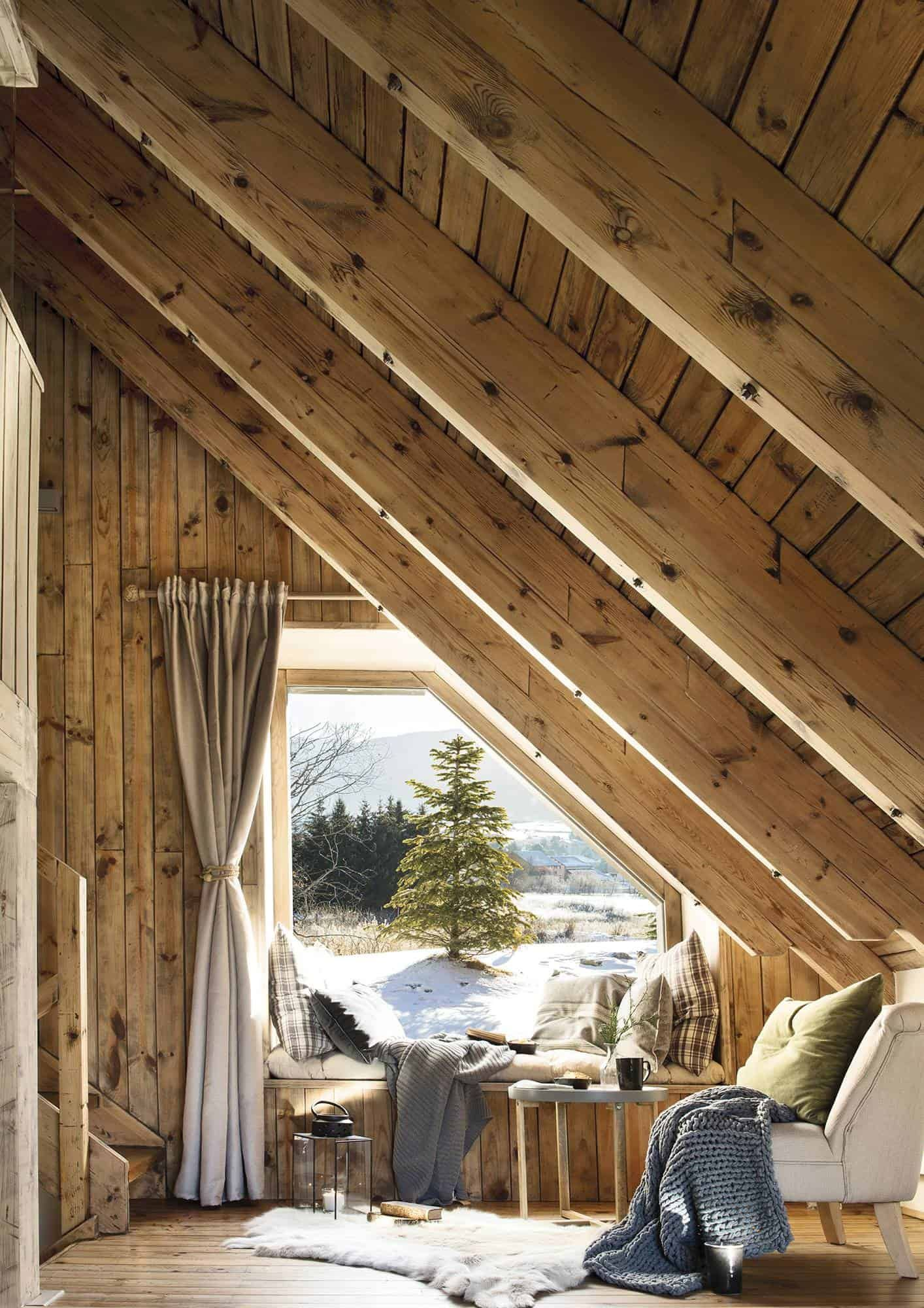 Cozy mountain cabin gets magical transformation in the Aran Valley, Spain