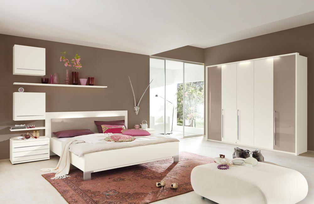 Bildergebnis für schlafzimmer braune wand wohnideen Pinterest - schlafzimmer braun weiß