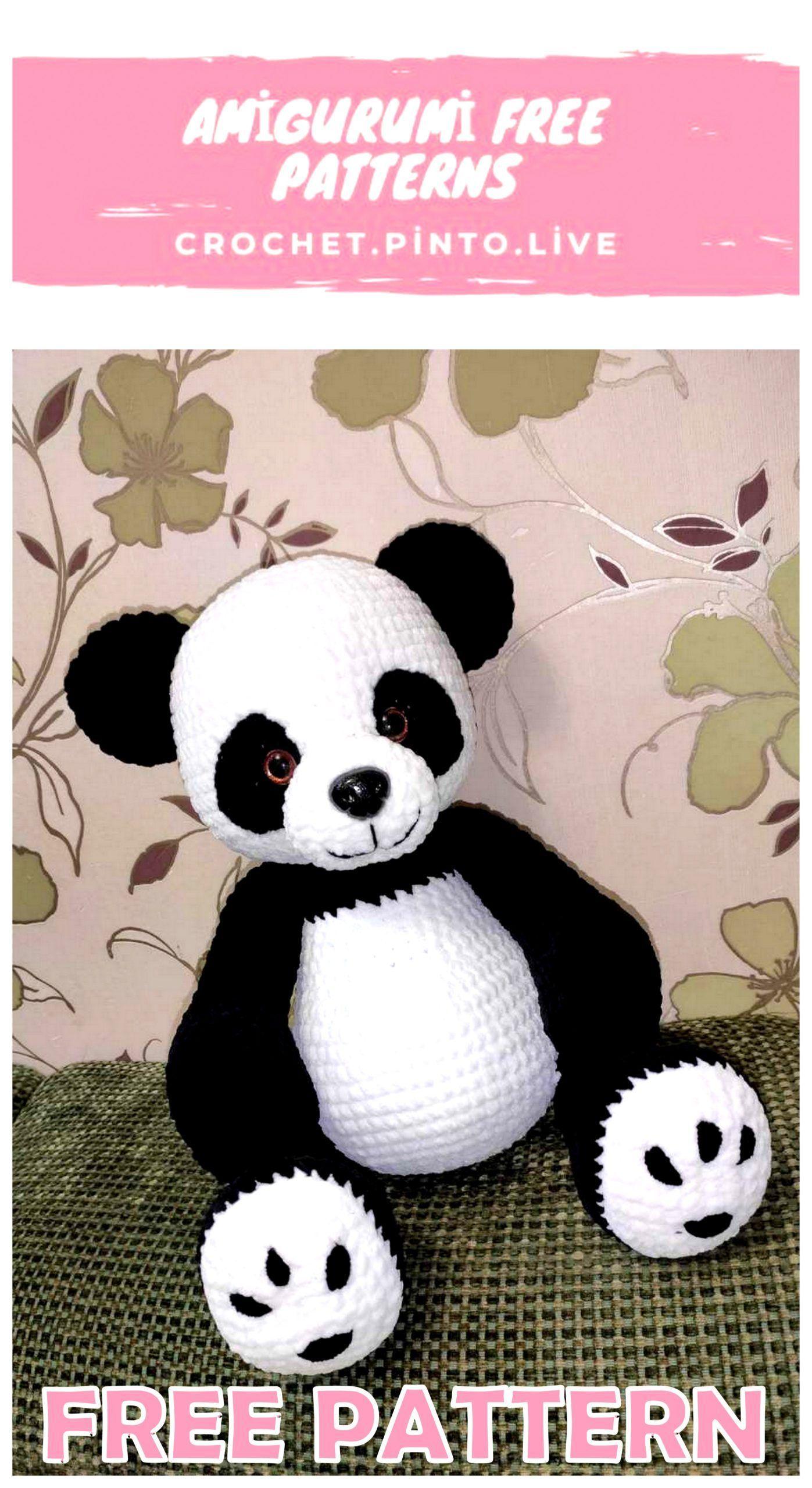 DIY Häkelanleitung Panda Yin EcoBarbante | Hoooked | 2560x1397