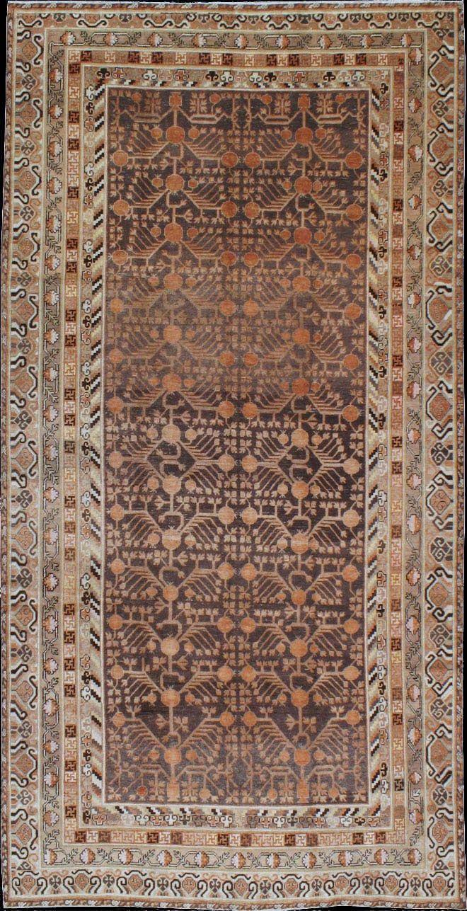 Turkestanian Khotan rug, 1920