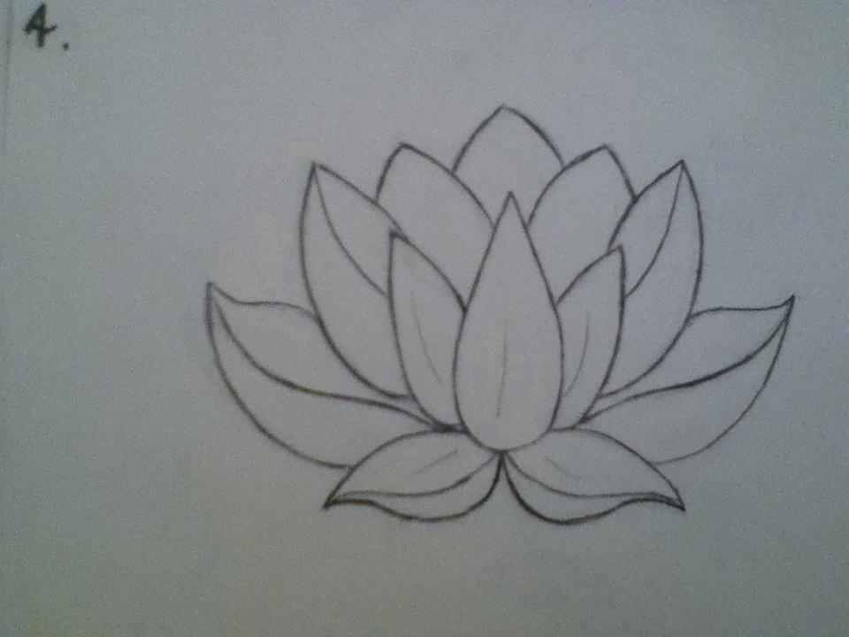 Pin By Ashley Barb On Love Lotus Tattoo Tattoo Drawings Tattoos