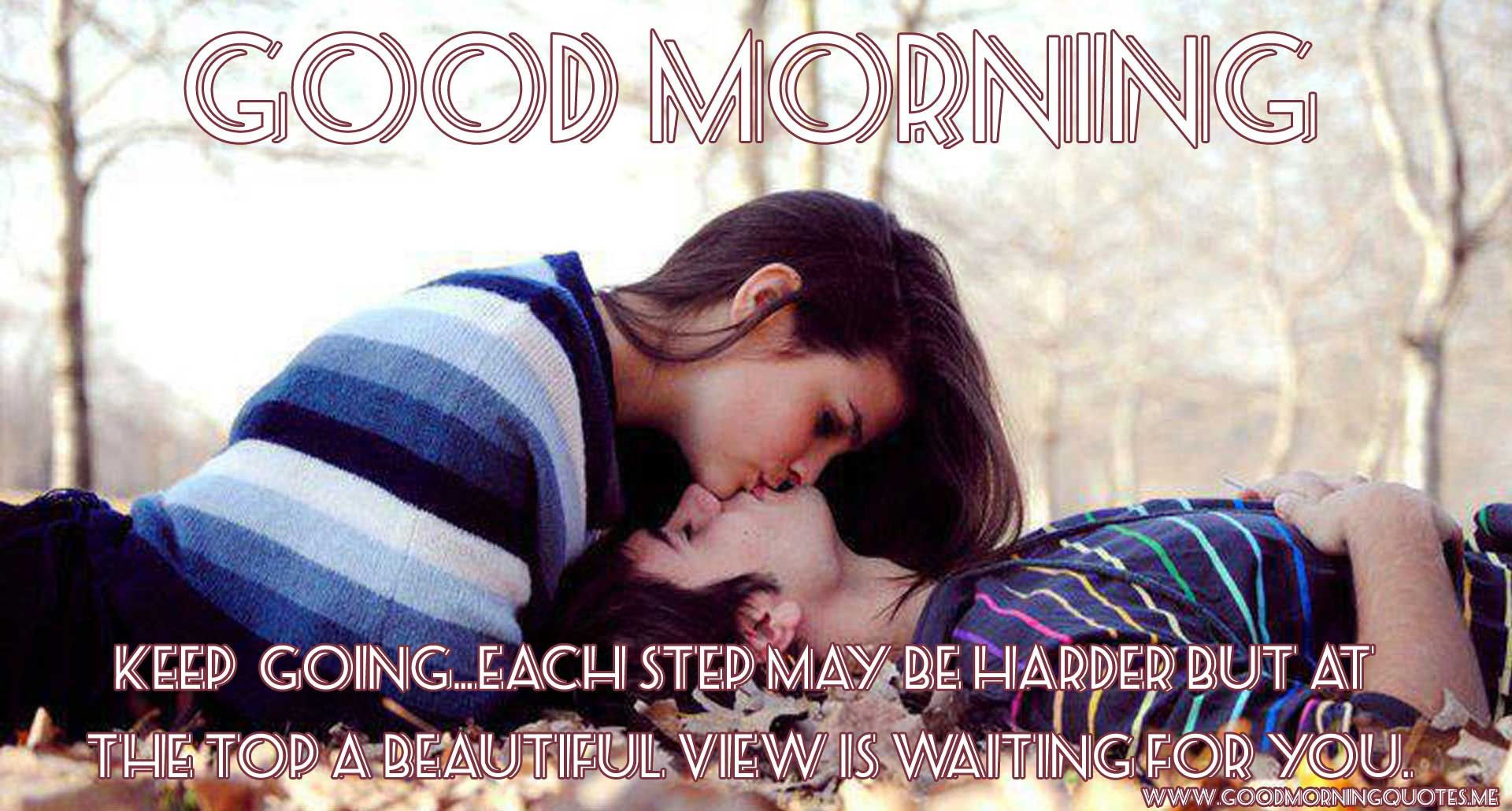 The most beautiful collection of good morning love couple images with quotes send these love