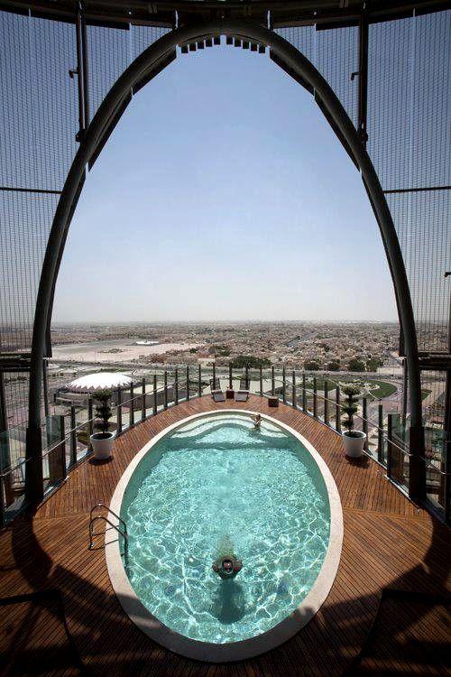 "nice pool, the ""eye of pleasure""..."