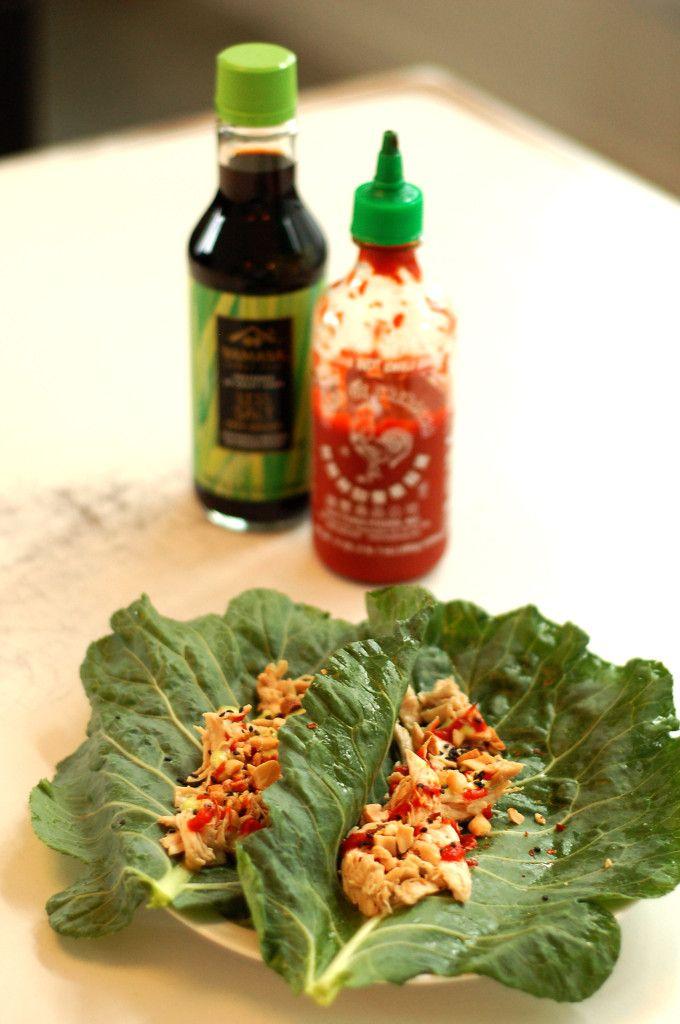 Crock-Pot Chicken Lettuce Wraps | The Slender Student