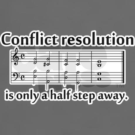 Conflict Resolution Dark Men S Value T Shirt Conflict Resolution Dark T Shirt By Conflict Resolution Products Cafepress Music Puns Music Jokes Music Humor
