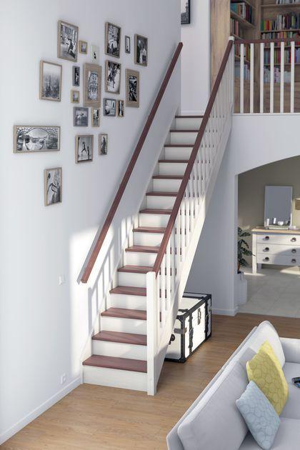 escalier les mod les d 39 escaliers pr ts monter escalier droit escaliers et droit. Black Bedroom Furniture Sets. Home Design Ideas