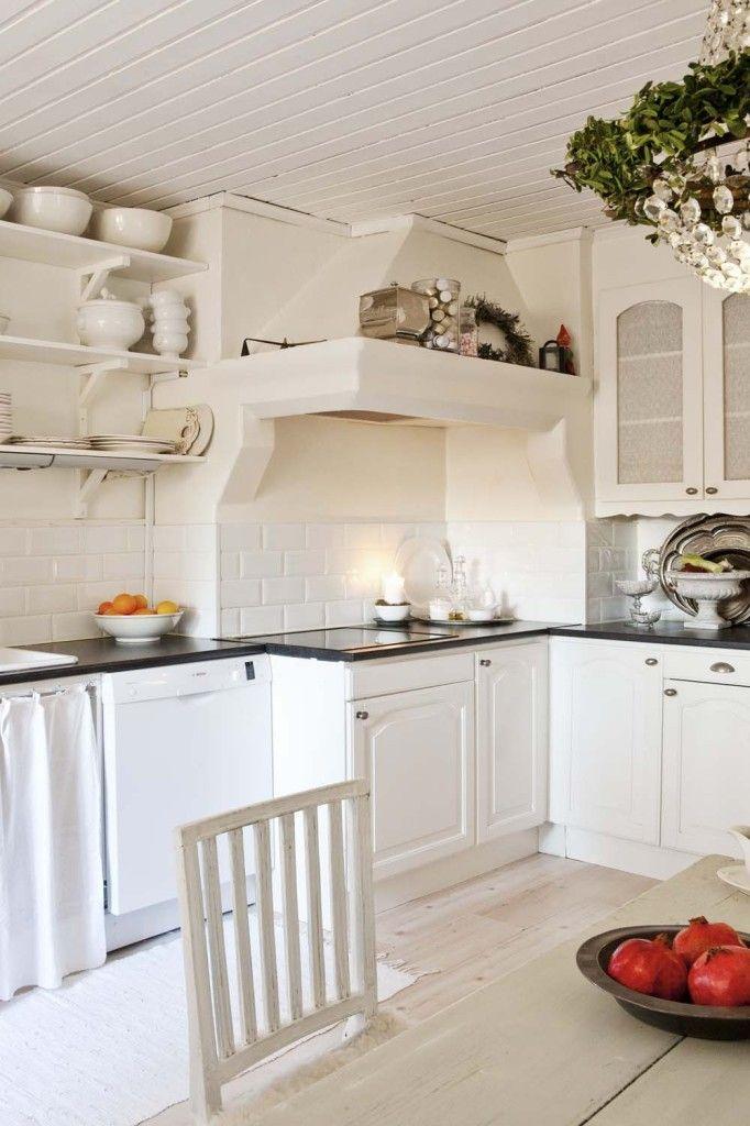 Küche Shabby schwedisches wintermärchen galley kitchens kitchens and shabby