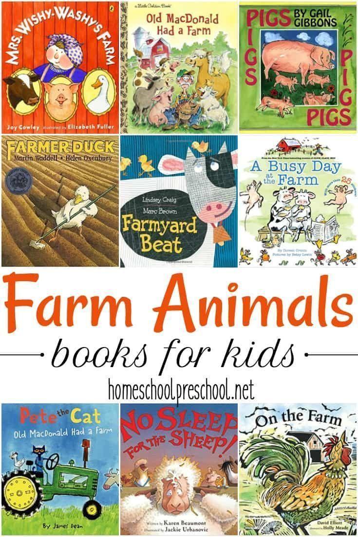 30 awesome farm animal books for preschoolers animal