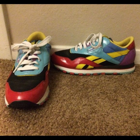 f876cba9cfb reebok freestyle x rolland berry painted