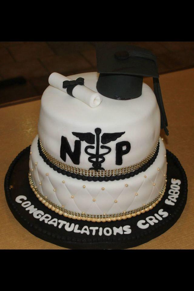 nurse practitioner graduation cakes