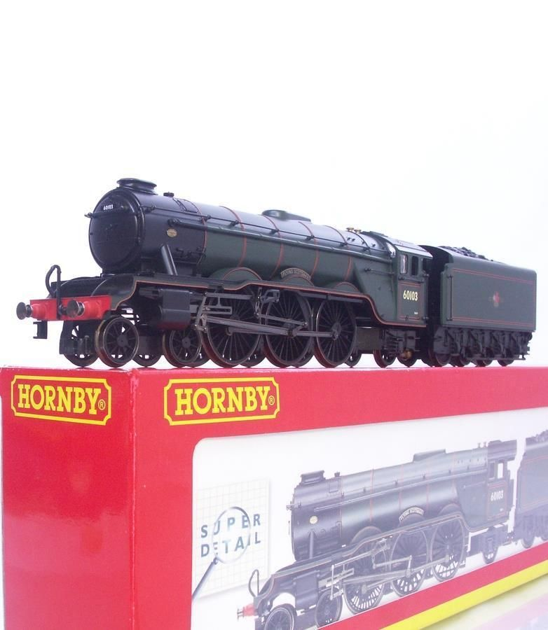 #HORNBY #R2054 #OOGAUGE - Sp.Ed. BR GREEN #A3 #PACIFIC 60103  #FLYINGSCOTSMAN  #LOCOMOTIVE , http://stores.ebay.co.uk/OOHO-Model-Railways?_trksid=p2047675.l2563