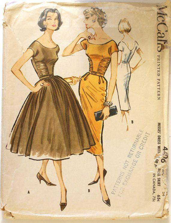 1950's McCalls 4406