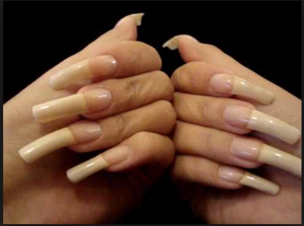 Pin By Chaquilia On Nails Natural Nails Long Natural Nails Long Nails