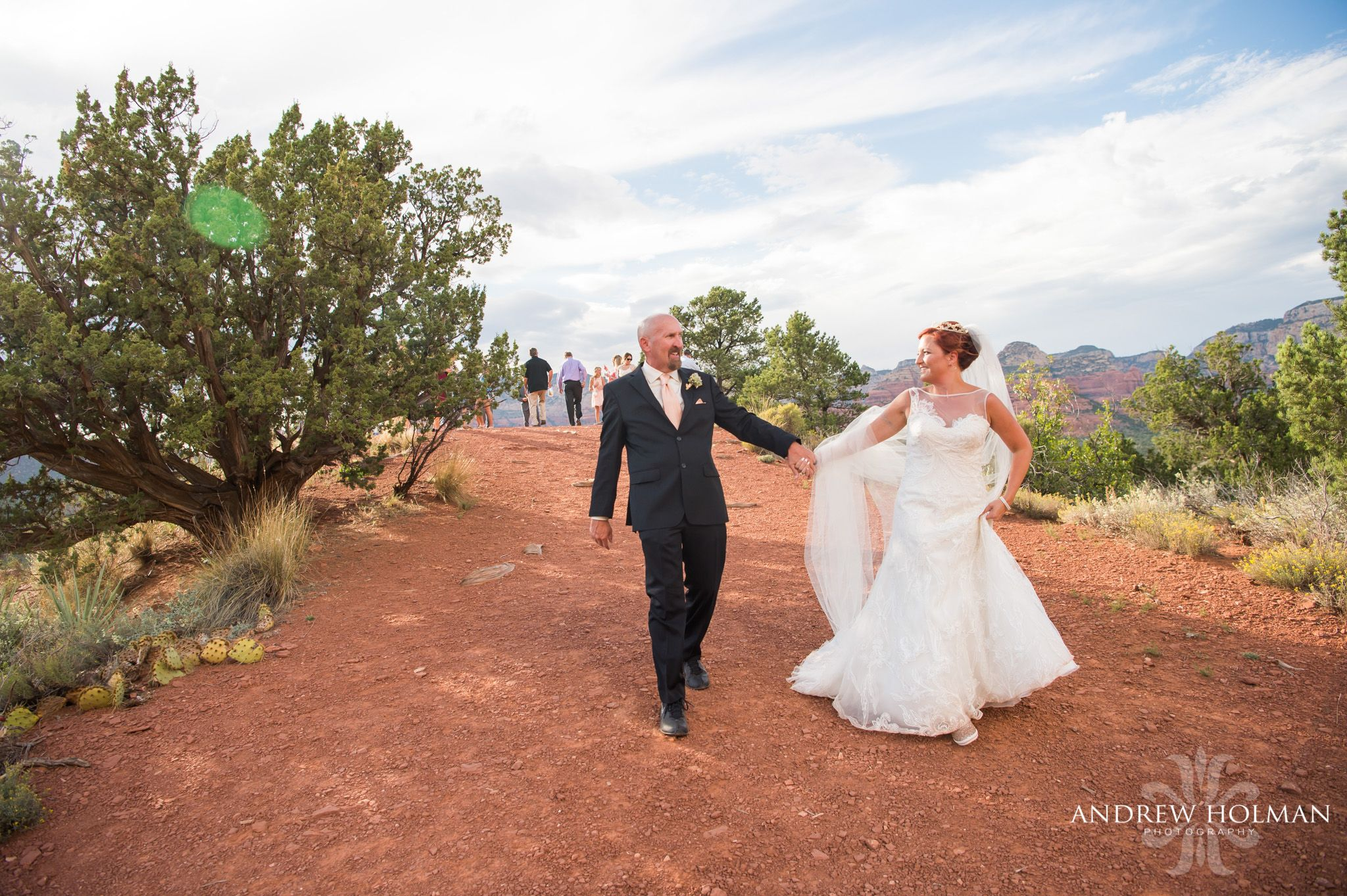 love this moment of Stephanie + Ron! photo :: Andrew Holman Photography ::planning :: Heart of Sedona Weddings