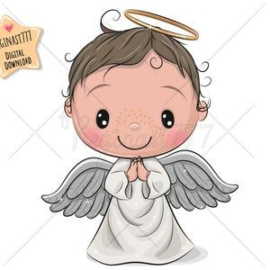 Cute Angel Png Digital Download Angel Clipart Party Children Printables Scrapbooking Clip Art Kids Cartoon Christmas Decoration In 2021 Angel Baby Art Angel Cartoon Angel Vector