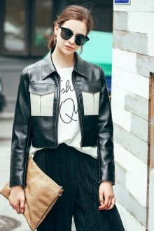 SHARE & Get it FREE   PU Leather Cropped Moto JacketFor Fashion Lovers only:80,000+ Items • New Arrivals Daily • FREE SHIPPING Affordable Casual to Chic for Every Occasion Join Dezzal: Get YOUR $50 NOW!