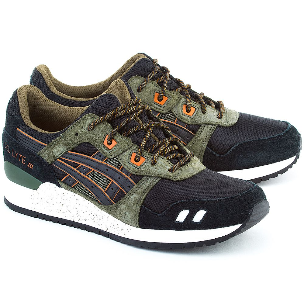 Asics Gel Lyte Iii Wielokolorowe Zamszowe Sportowe Meskie H5t3n 9090 Running Shoes For Men Asics Asics Men