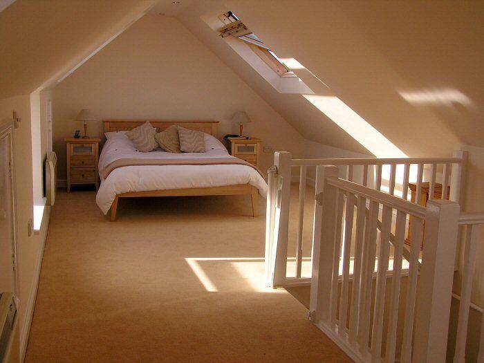 Pin By Rebecca Plant On Loft Ideas Attic Bedroom Small Attic Master Bedroom Loft Conversion Bedroom