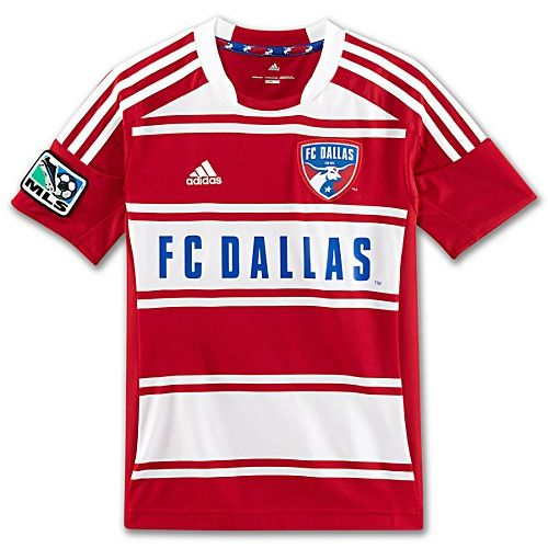 adidas Youth 8-20 FC Dallas Replica Home Jersey
