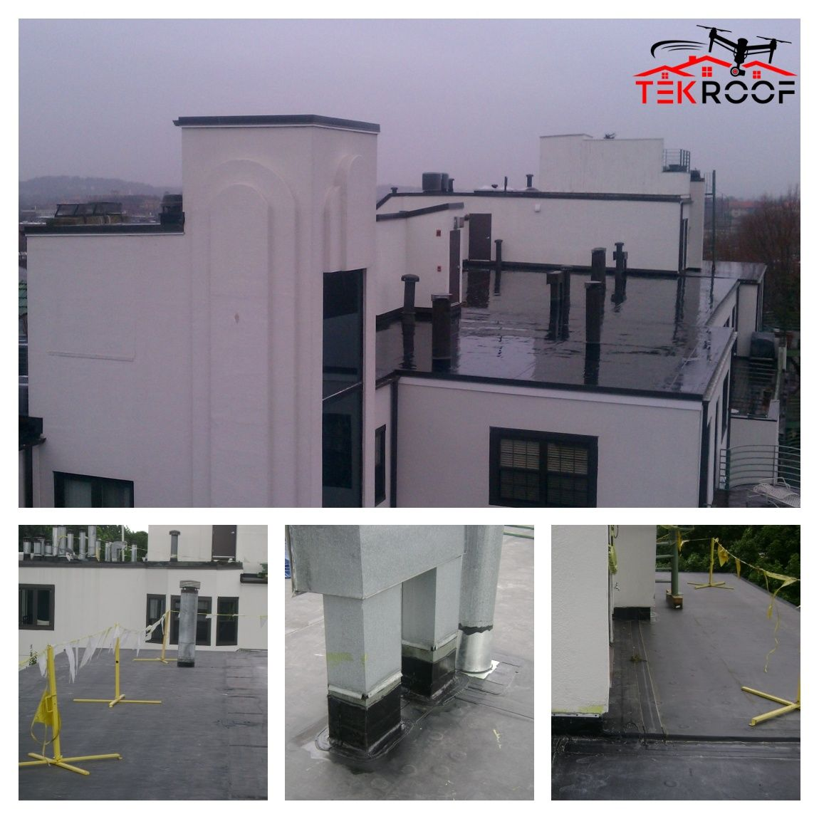 If You Are Planning To Install A New Flat Roof Or Replace An Old One It Is Very Important To Put In With Appropriat Roof Insulation Commercial Roofing Roof