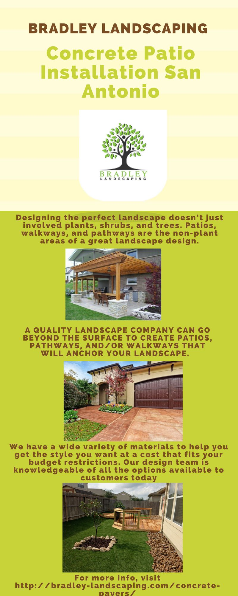 A Quality Landscape Company Can Go Beyond The Surface To Create Patios Pathways And