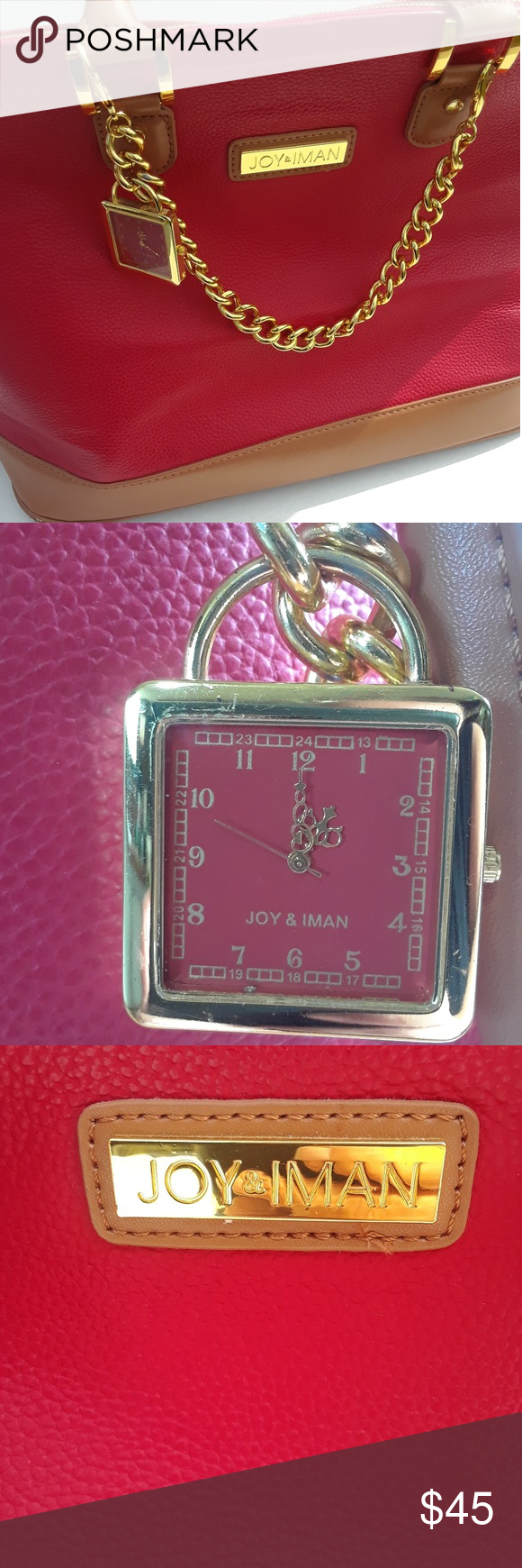 Joy and Iman purse Brand new gorgeous handbag from HSN  Very sturdy