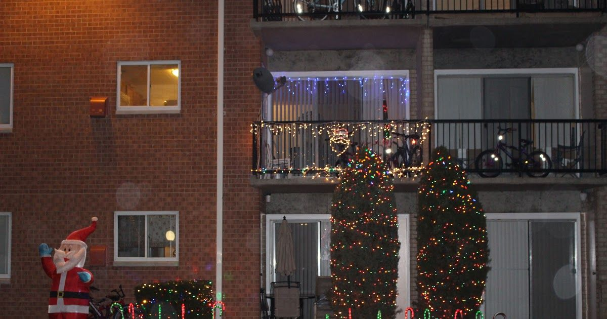 16++ Apartment balcony christmas decorations ideas in 2021