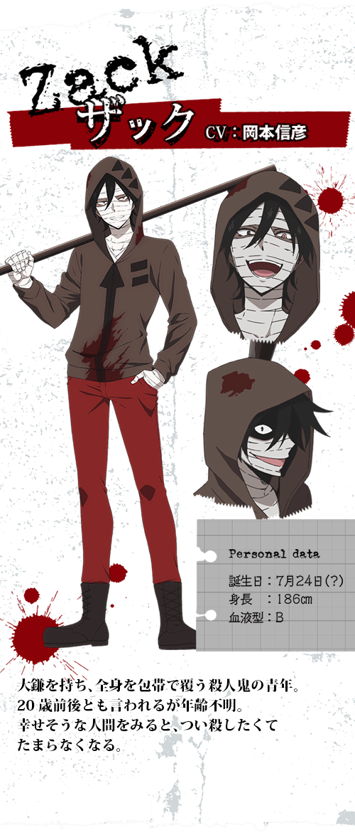 Photo of Angels of Death Concept Art Zack