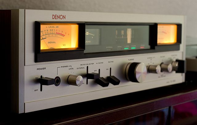 Denon Tu 500 Vintage Electronics Hifi Audio