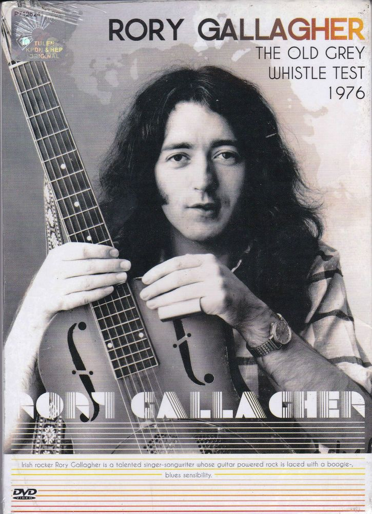 RORY GALLAGHER The Old Grey Whistle Test 1976 DVD NEW NTSC PAL Region All