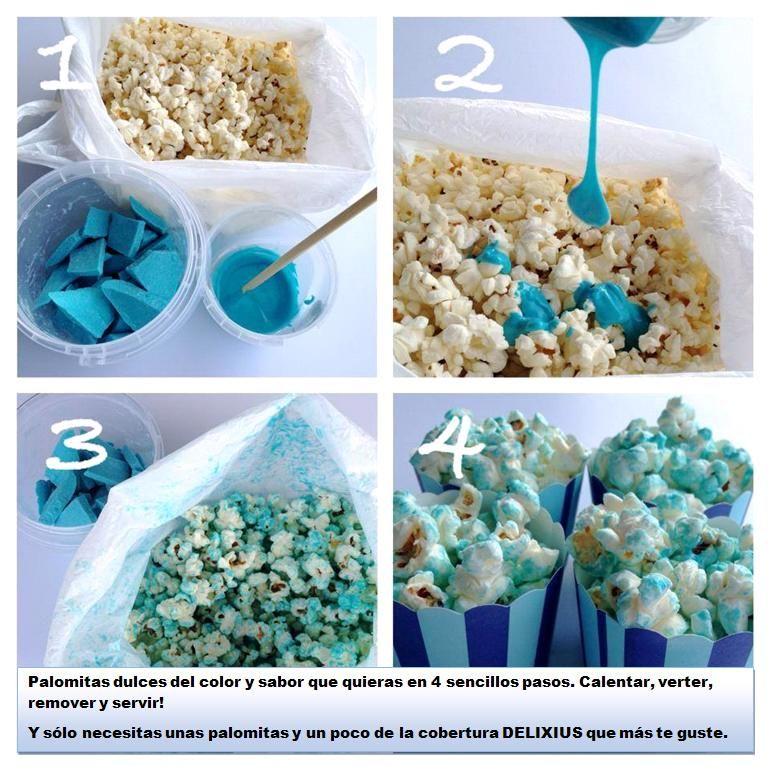 Como hacer crispetas caramelizadas