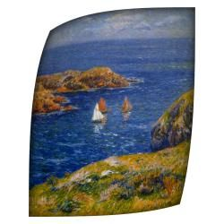 @Overstock.com - If youre looking to update your home decor, then this large canvas artwork will do the job. Add some tranquility into the room with a beautiful print of calm seas. The picture comes unframed so you can personalize it with a frame that fits your style.http://www.overstock.com/Home-Garden/Henri-Moret-Calm-Seas-Rolled-Canvas-Art-18-x-24/6789233/product.html?CID=214117 $29.99