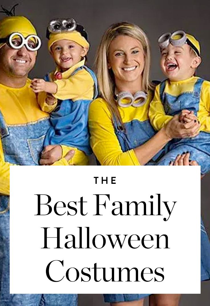 halloween costumes your whole family can get in on halloween