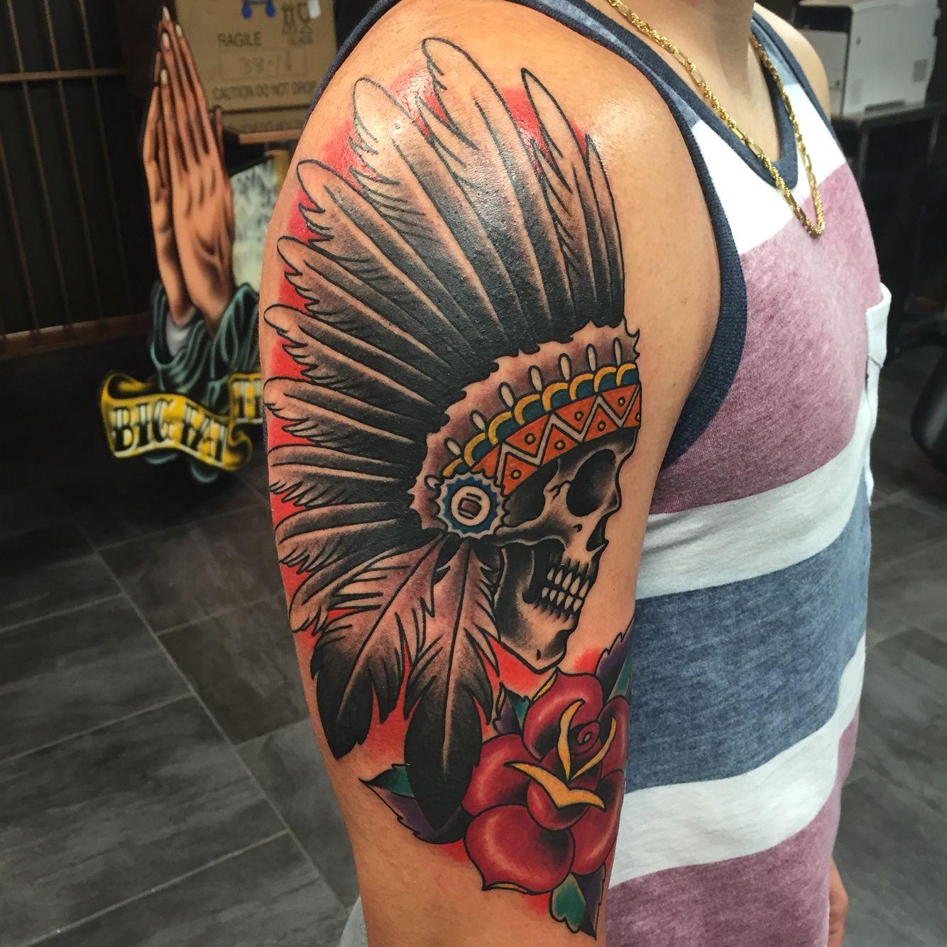 #tattoo #apache #indiantattoo #indian | Tattoos ...  #tattoo #apache...