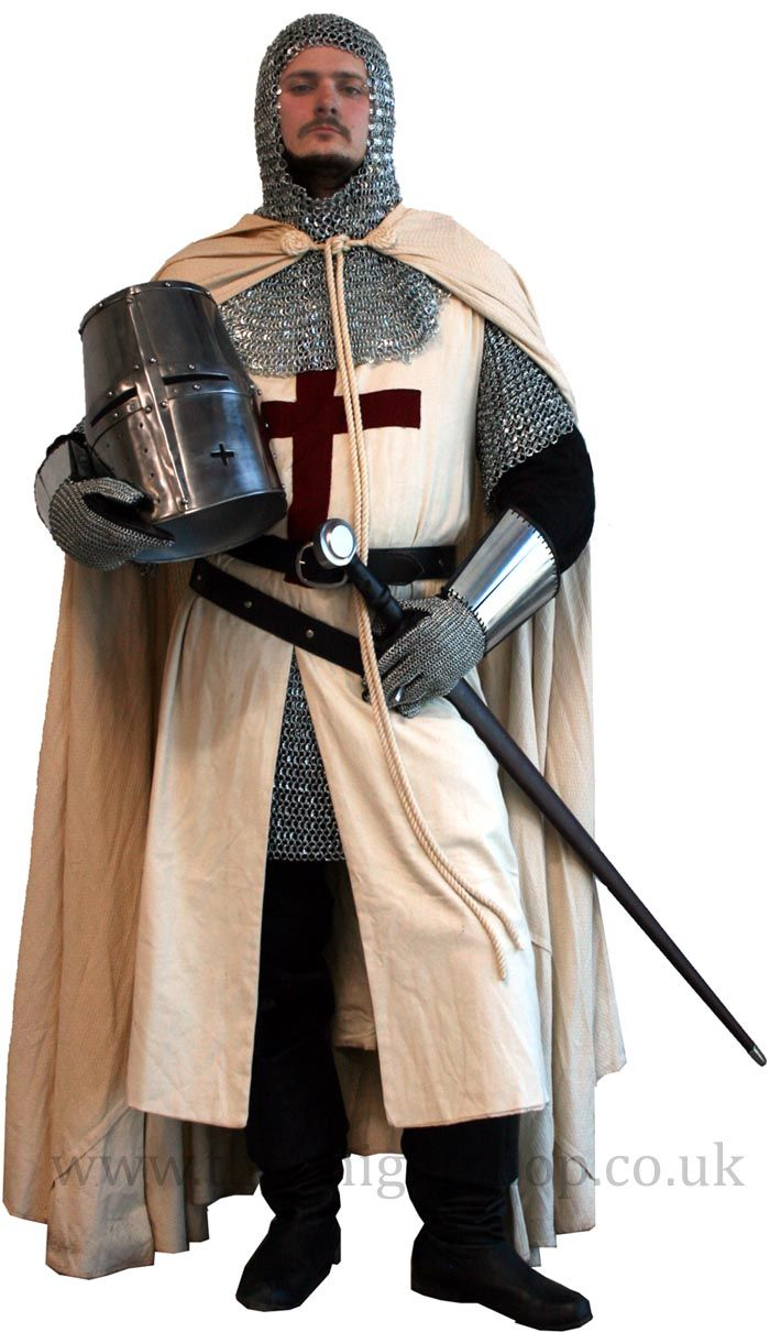 Templar Knight Costume.