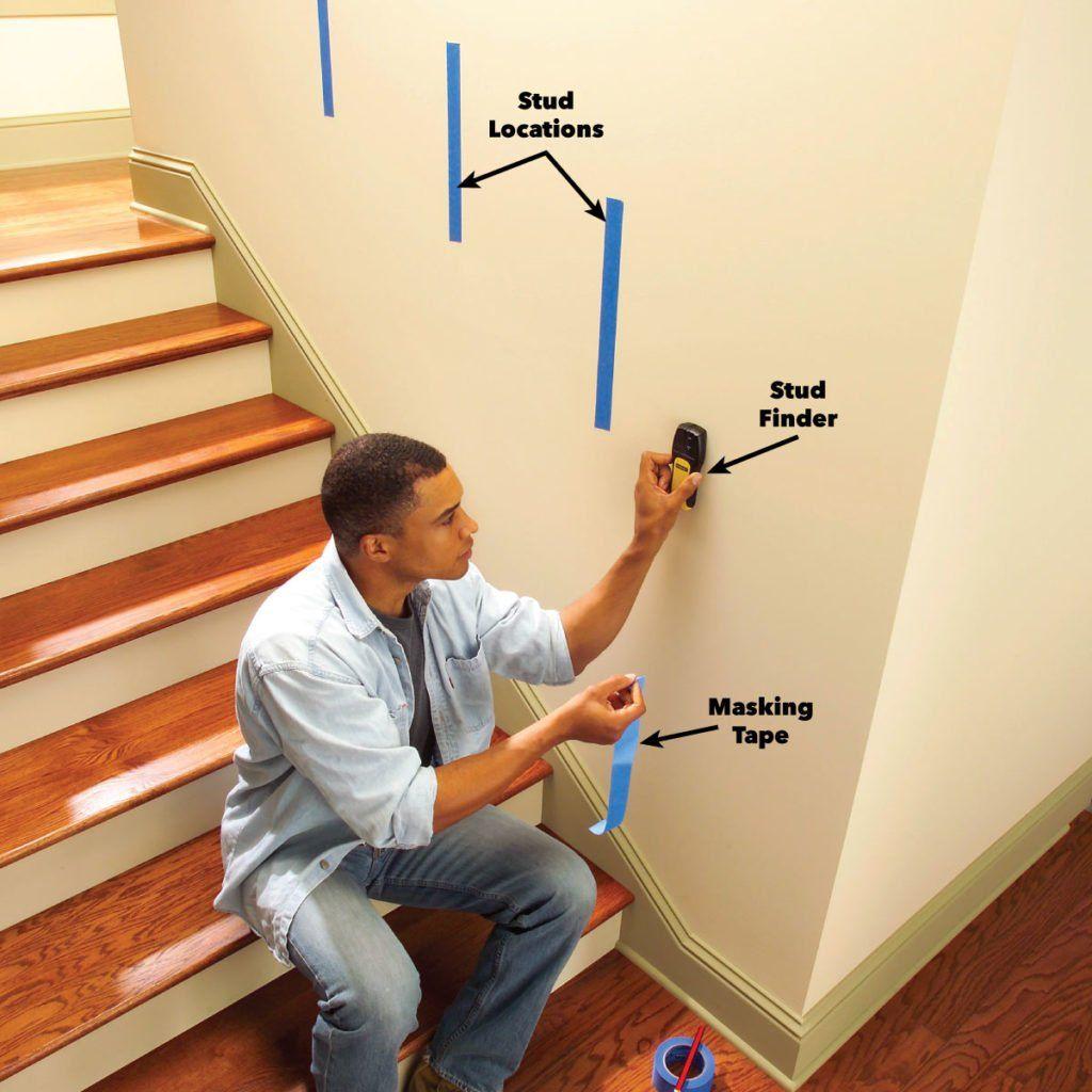 Install a New Stair Handrail   Stair handrail, Staircase ...