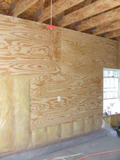 Plywood On Interior Garage Walls Garage Walls Insulating Garage Walls Alternatives To Drywall