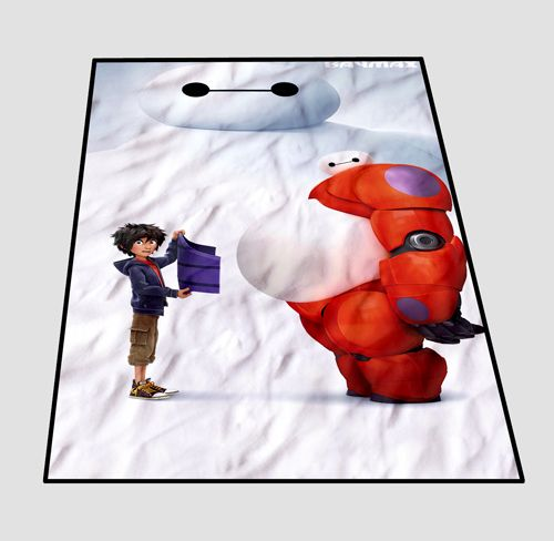 KIDS // MEDIUM // LARGE Baymax Big Hero 6 Cover Blanket